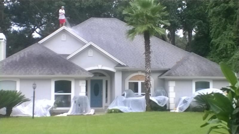 best roof cleaning and power washing company in jacksonville florida